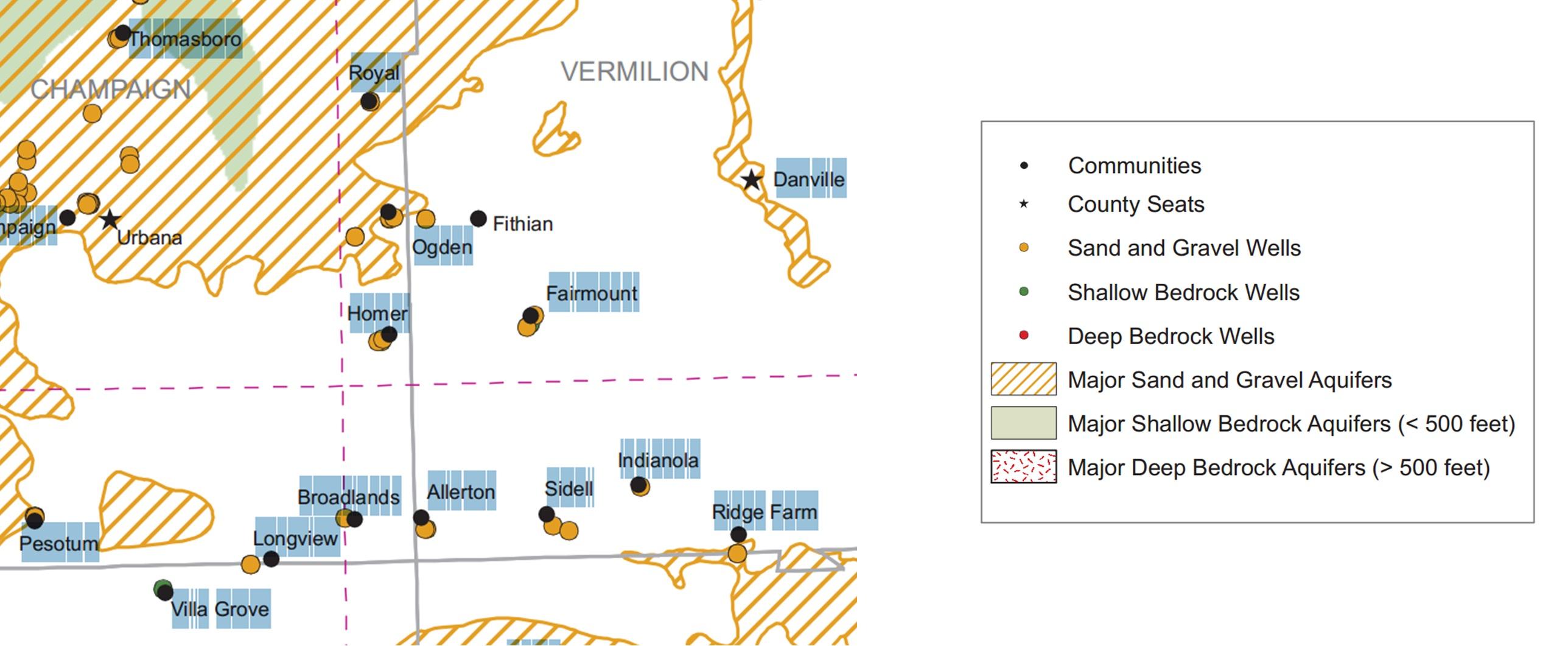 Illinois vermilion county fairmount - Vermilion County Groundwater Availability