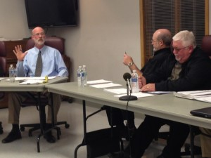 Homer mayor Dave Lucas and trustee Guy James discuss the mayor's abuse of power.