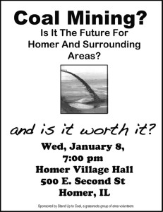 Homer Meeting Announcement